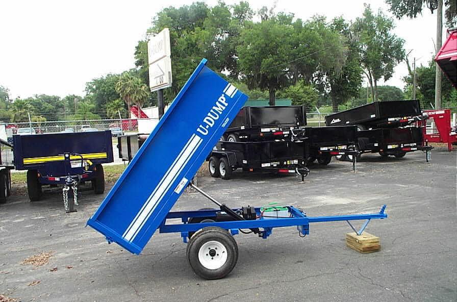Deep Cycle Marine Battery Charger >> Small Dump Trailers - 4' X 6' ATV/UTV Dump Trailers For Sale