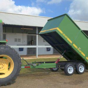 Dump Trailer on Farm