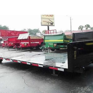 Flat Bed Roll Off