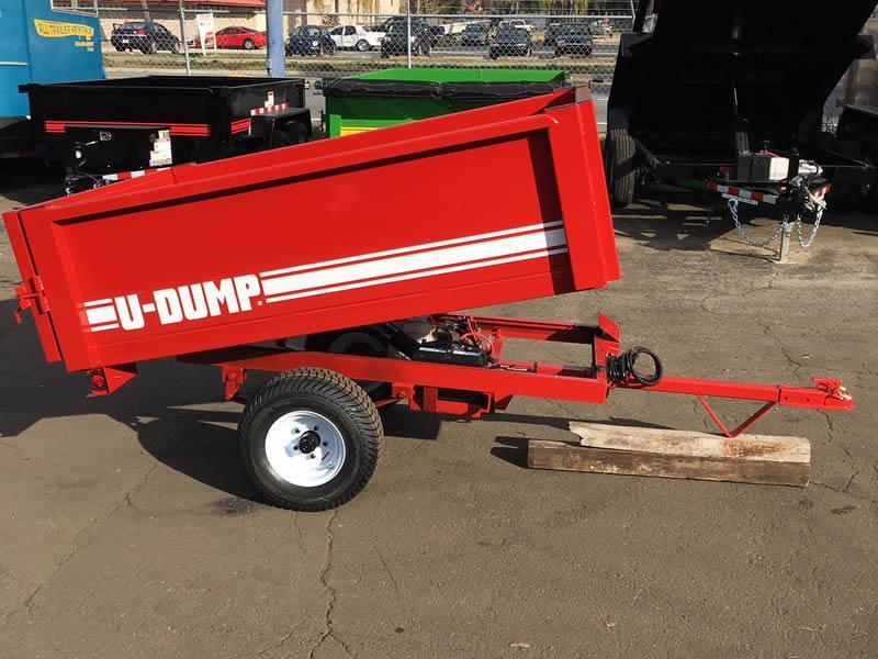 Small Dump Trailers - 4' X 6' ATV/UTV Dump Trailers For Sale