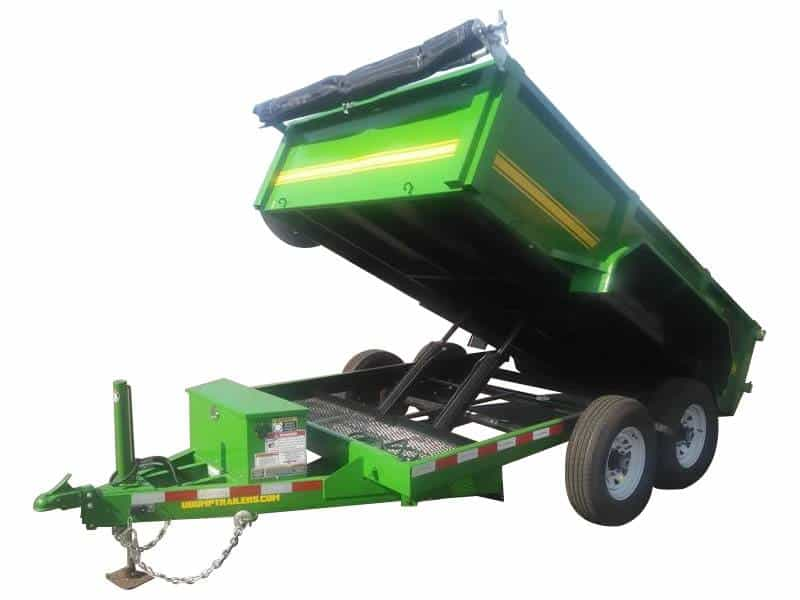 Low Side Dump Trailer